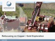 Speewah Metals One2One Presentation - Proactive Investors