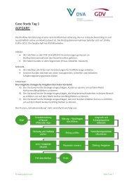 Training Prozesscontrolling Case Study Tag 1 - Q_PERIOR