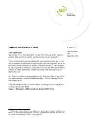 Faktaark om identitetstyveri - Politiets