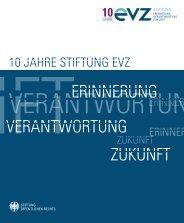 10 jahre stiftung evz - Stiftung