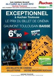 EXCEPTIONNEL - Auchan