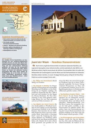 Juwel der Wüste – Namibias Diamantenküste