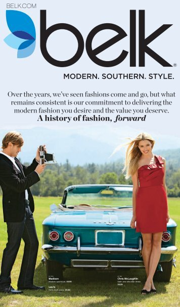 A history of fashion, forward - Belk