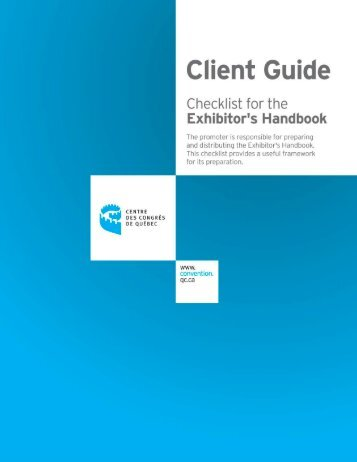 Exhibit Handbook - Organization for Human Brain Mapping