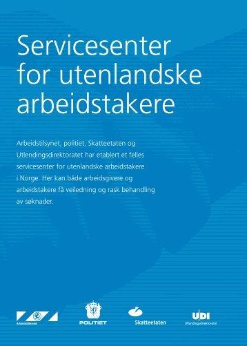 Servicesenter for utenlandske arbeidstakere - UDI