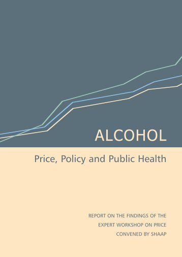 ALCOHOL Price, Policy and Public Health - European Commission