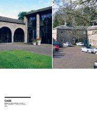 CASE Broughton hall - Fremtidens Herregård