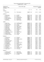 Protokoll - Landesschwimmverband Tirol