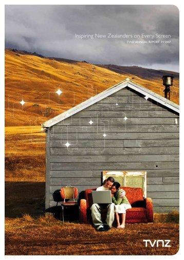 TVNZ Annual Report 2007