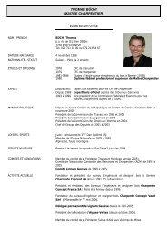 voir son CV - Charpente concept
