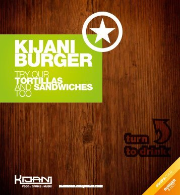 Kijani – Burgers and Cocktails