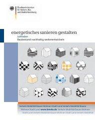 Energetisches Sanieren Gestalten - BMVBS