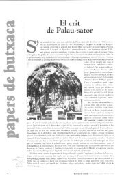El crit de Palau-sator - Raco