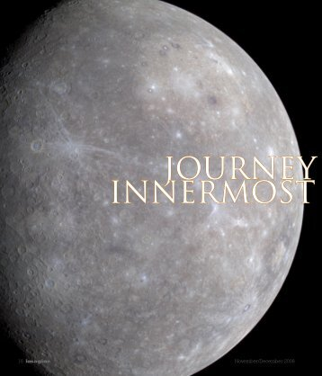 journey to the innermost planet - Johns Hopkins Center for Talented ...