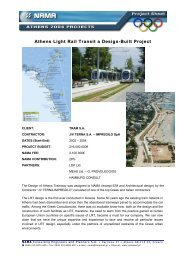 Athens Light Rail Transit a Design-Built Project - NAMA Consulting ...