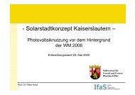 Abschlusspräsentation Stufe1 [1.485 KB] - Stadt Kaiserslautern