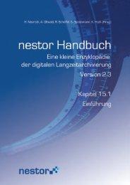 15.1 Einführung - nestor