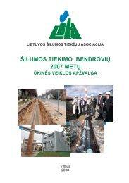 Untitled - Lietuvos šilumos tiekėjų asociacija (LŠTA)