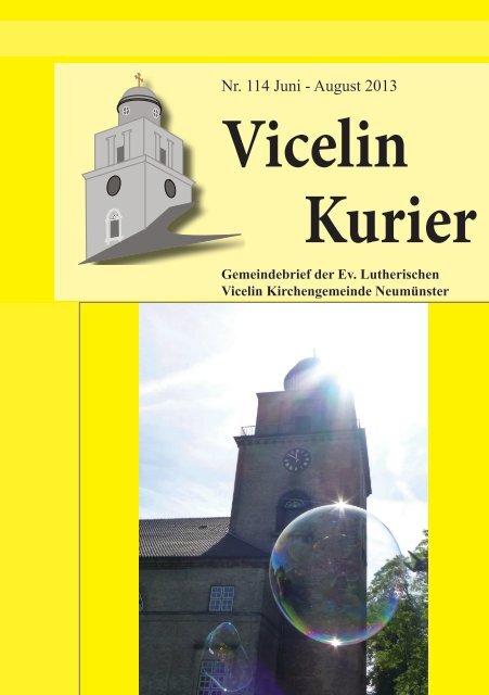 Neu 114.pdf - luth. Vicelin - Kirchengemeinde Neumünster