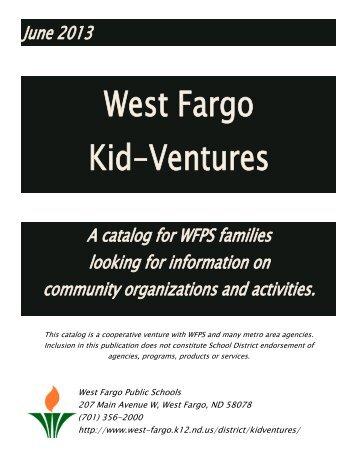 June 2013 - West Fargo Public Schools