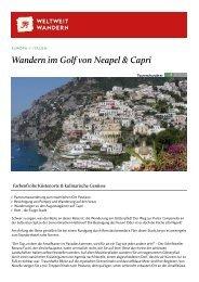 Wandern im Golf von Neapel & Capri - Weltweitwandern