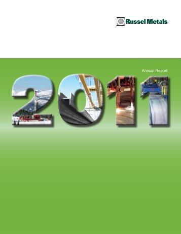 2011 Annual Report - Russel Metals, Inc.