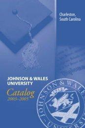 2003-2005 - Johnson & Wales University