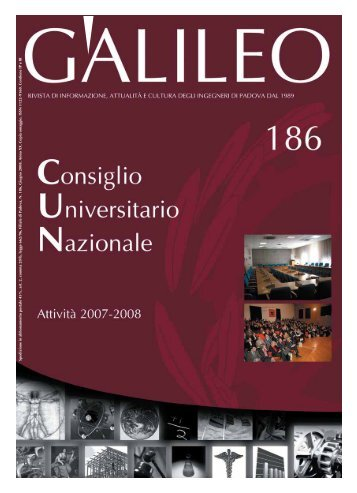 Galileo - Consuntivo 18 mesi CUN