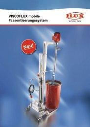 VISCOFLUX mobile Fassentleerungssystem - Flux Geräte GmbH