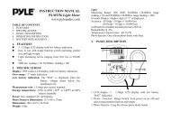 INSTRUCTION MANUAL PLMT56 Light Meter ... - SMC Electronics
