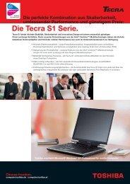 Die Tecra S1 Serie. - Toshiba