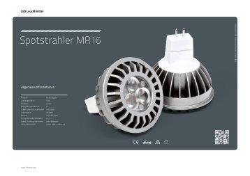 Spotstrahler MR16 - Lichtline