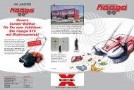 Kehrmaschinen - Rex Metall AG