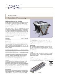 Alfa-V VDD - Alfa Laval