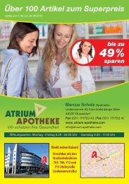 Angebote der Atrium Apotheke