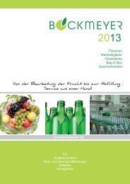 Flaschen und Zubehör - Bockmeyer Kellereitechnik GmbH