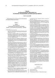 Geräte- und Produktsicherheitsgesetz – GPSG - Mehr Sicherheit für ...