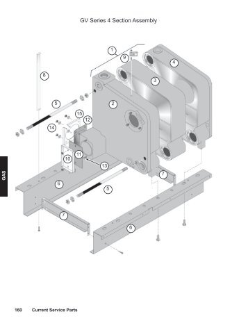 GV Series 3 Section Assembly - Weil-McLain