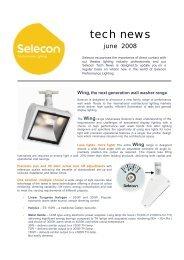 tech news - Selecon