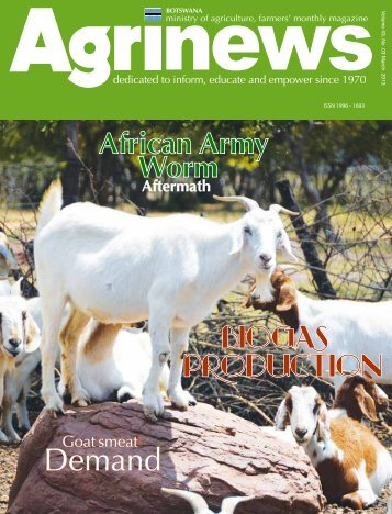 Agrinews March 2013 - Ministry of Agriculture