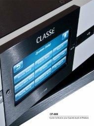 CP-800, Guide d'utilisation pour logiciels Apple et ... - Classé Audio