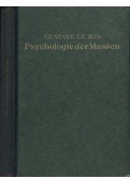 Psychologie der Massen - Ura-linda.de