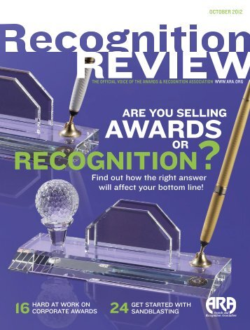 Recognition Review - Society Awards
