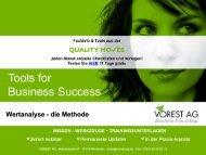 Wertanalyse - die Methode - Vorest AG
