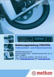 FORCIPOL Bedienungsanleitung
