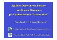 Seafloor Observatory Science: