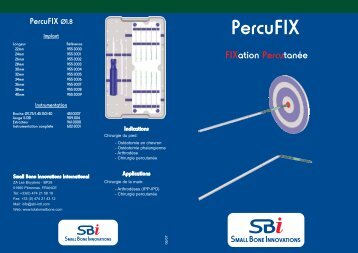 PercuFIX VF.qxp - Small Bone Innovations