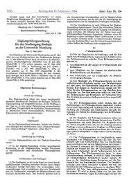 Diplomprüfungsordnung für den Studiengang Biologie vom 11. Mai ...