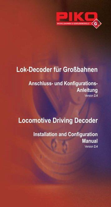 Locomotive Driving Decoder - Champex-Linden