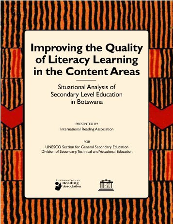 This UNESCO-funded situational analysis - International Reading ...